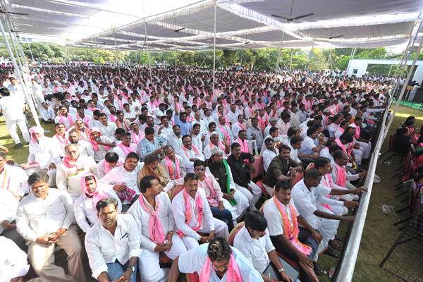 TRS expects huge crowd for public meeting on April 27