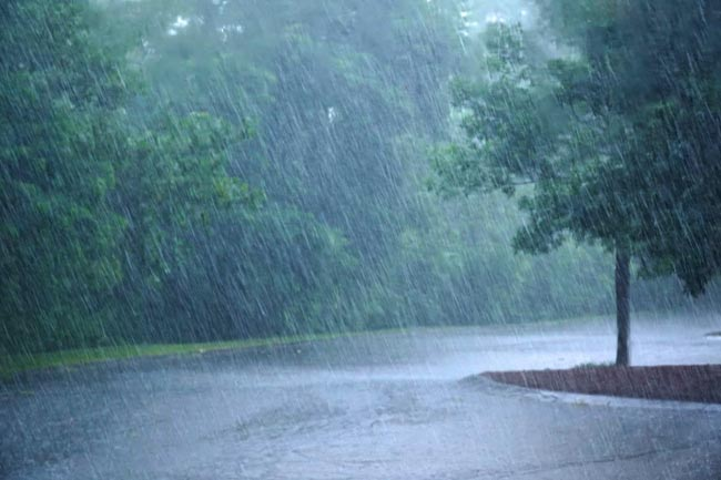 Light rainfall reports in parts of Telangana