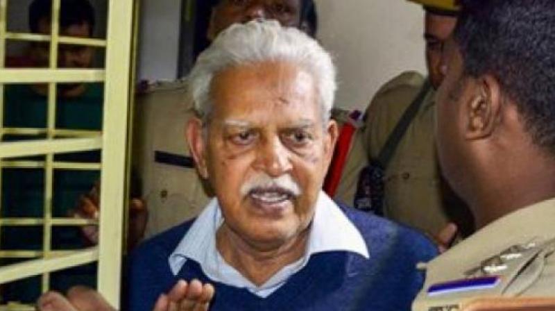 Court rejects P Varavara Rao