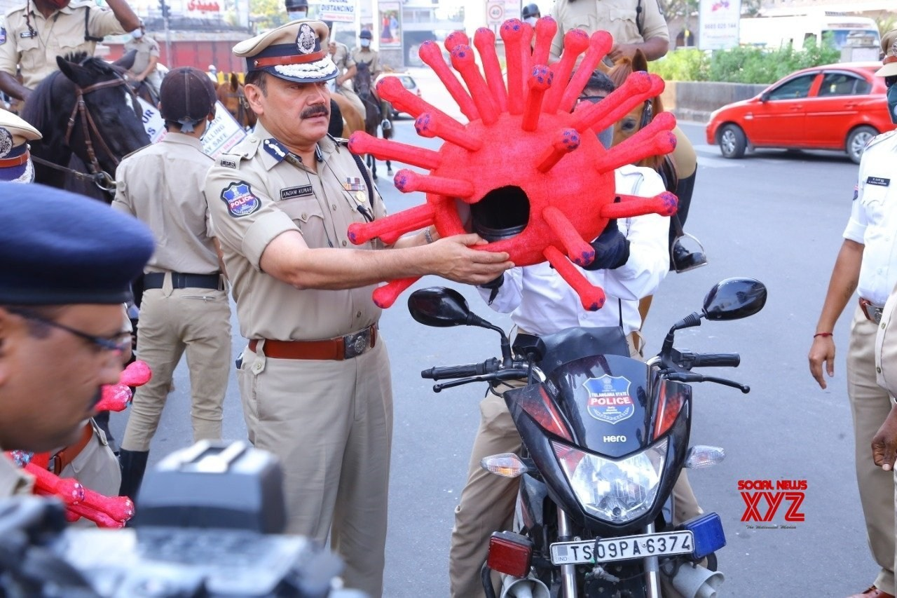 Hyderabad Police launch corona awareness campaign