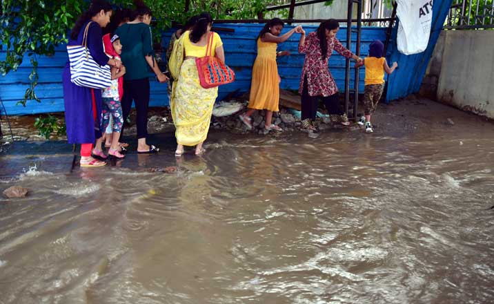 Patancheru records the highest rainfall of 7 cm on Sunday