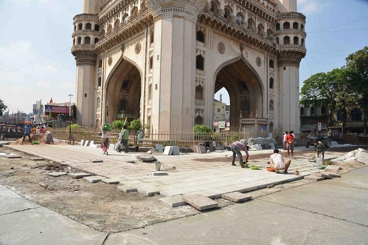 Charminar pedestrian project to be completed by March: B.Janardhan Reddy