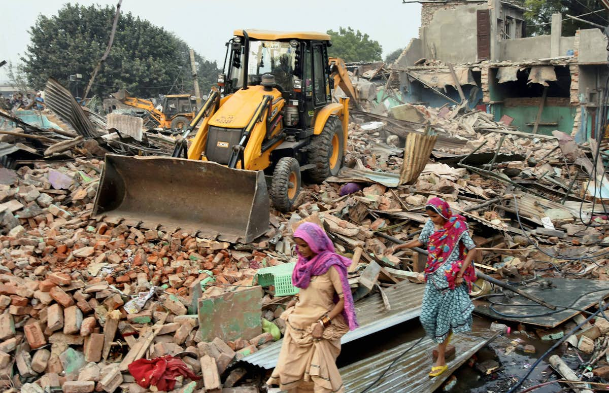 GHMC razes 31 illegal buildings for the 3rd consecutive day