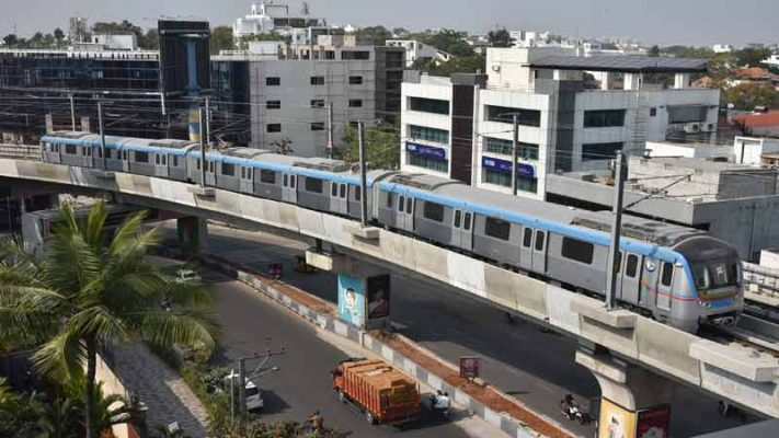 Metro train to stop at Madhapur Station from today