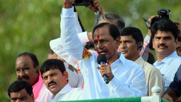 I will quit if you show copy of Tummadi Hatti pact: CM KCR