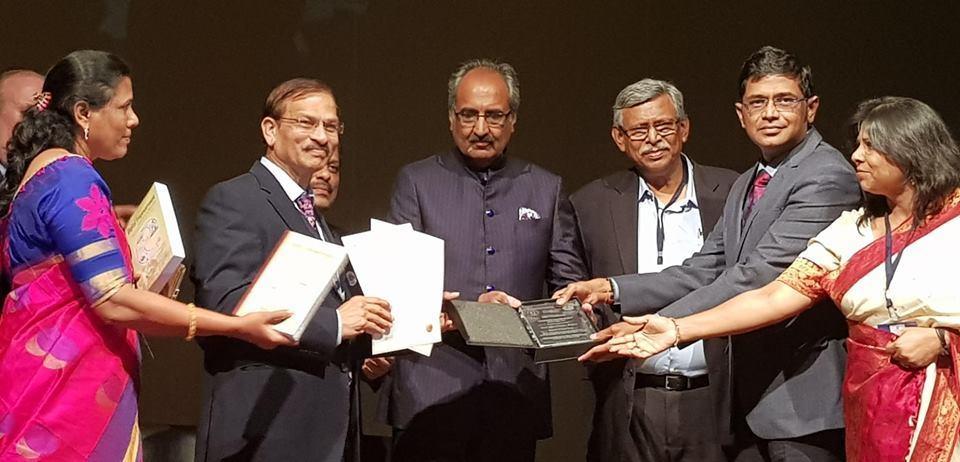 Telangana police recieve e-Governance award
