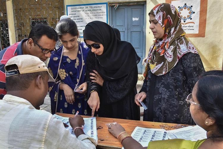 39.34% polling registered in Hyderabad