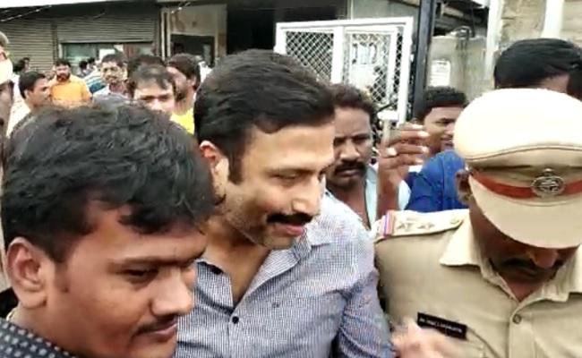 Ravi Prakash sent to judicial custody