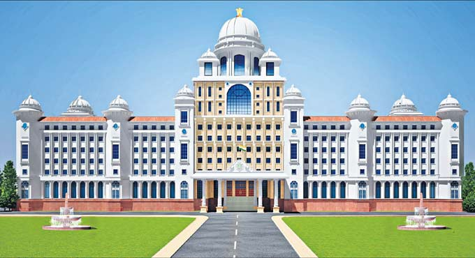 Design of new Telangana Secretariat complex finalised