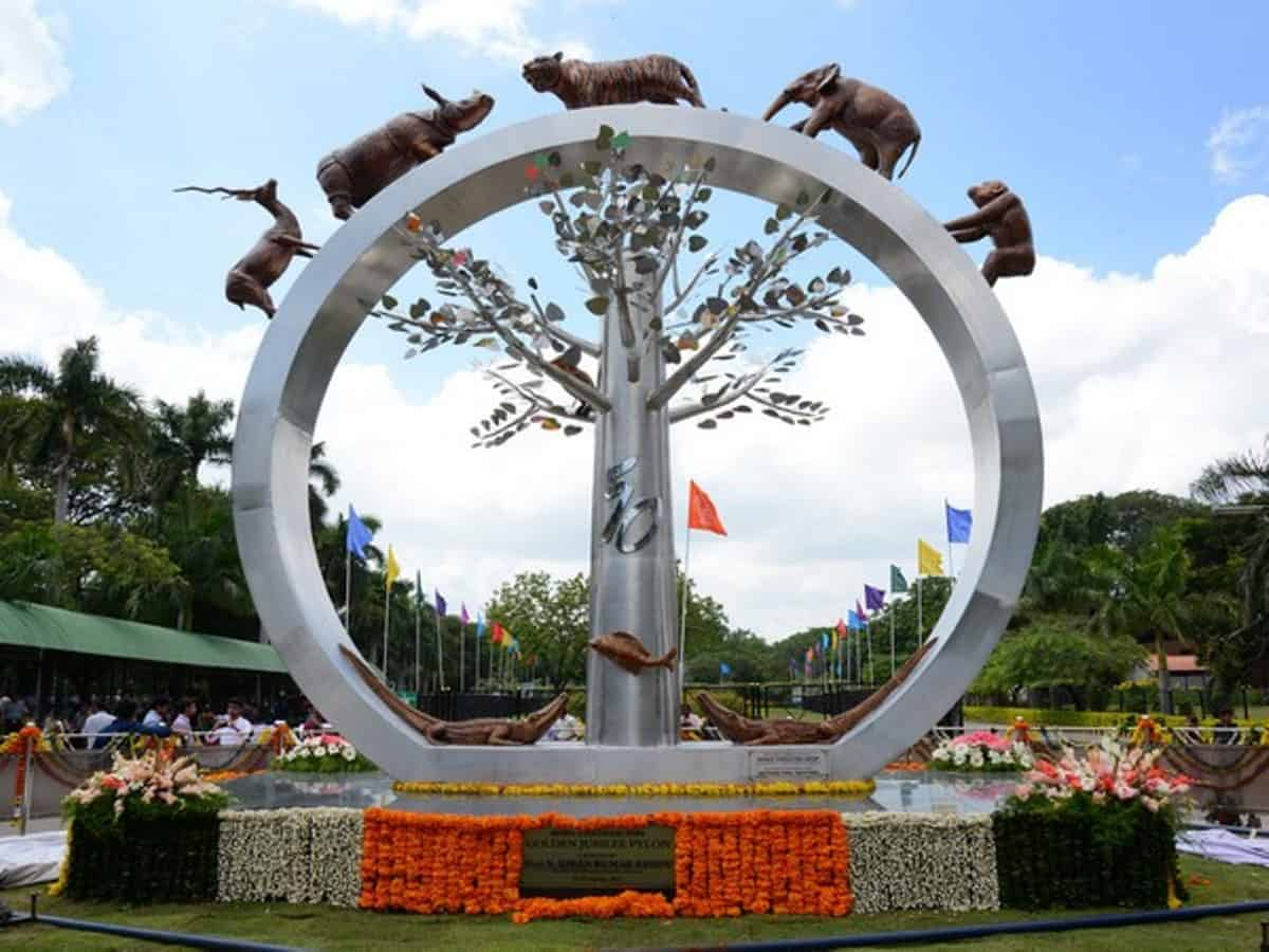 internationaldayofforestscelebratedatnehruzoologicalpark