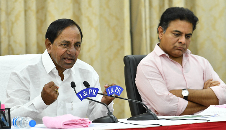 CM KCR urges PM Modi to convene meeting of all Chief Ministers