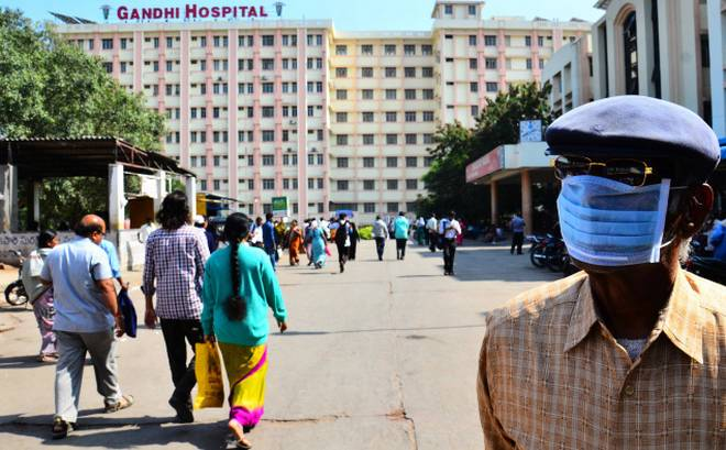 Two more patients die of swine flu in Gandhi Hospital