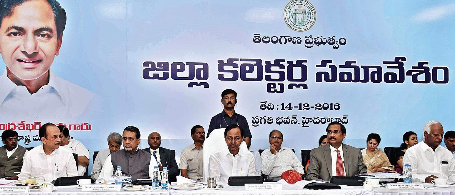 Collectors will get Rs.3 crore funds: KCR