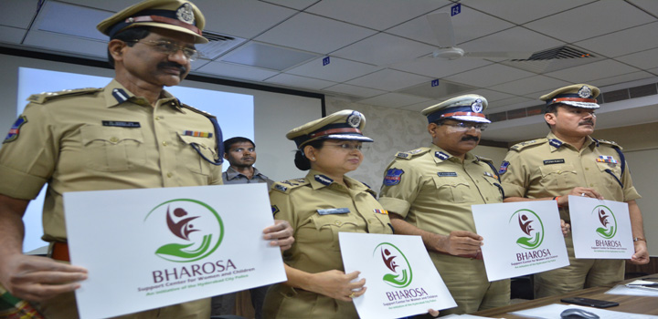 Hyderabad Police announced  the formation of Bharosa support for Women
