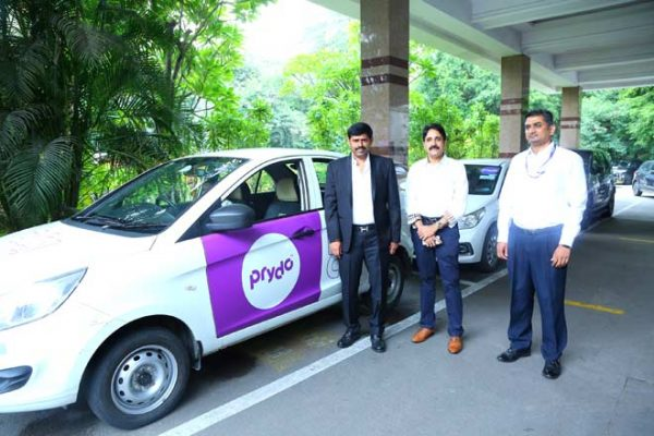 New cab service Prydo launched in Hyderabad