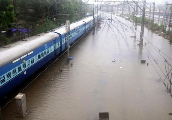 SCR cancelled different trains due to heavy rains