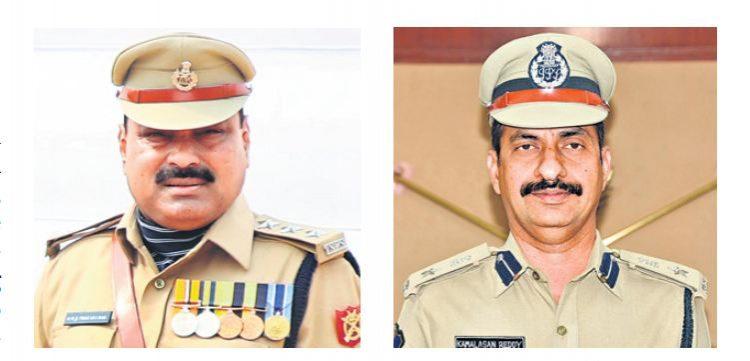 12 Telangana cops bag President