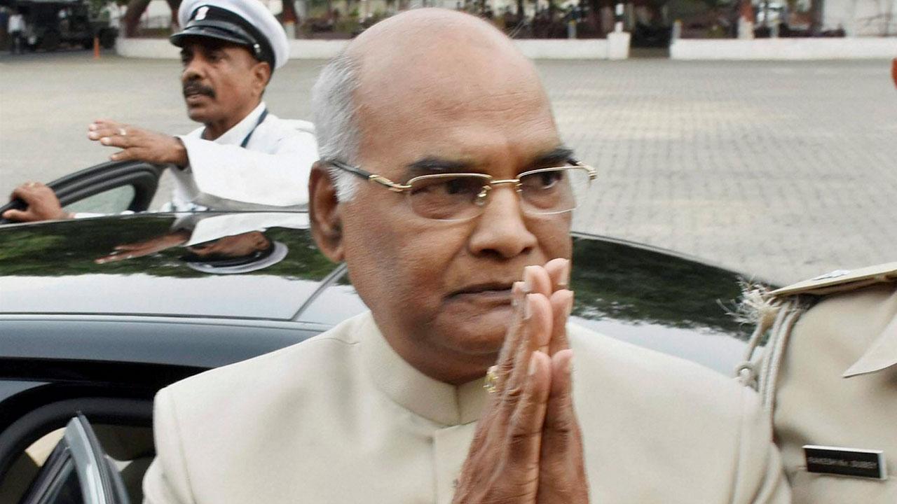 President Kovind to arrive Hyderabad tomorrow