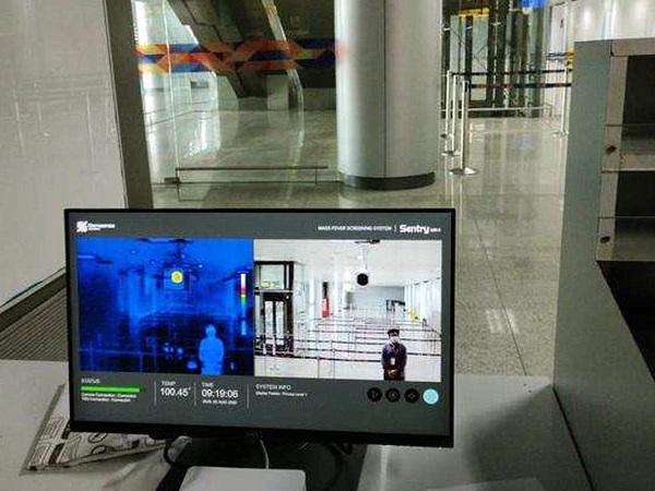 Hyderabad International Airport receives Mass Fever Screening System.