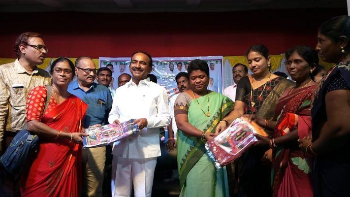 Free treatment for chronic diseases to poor soon: Etela Rajender