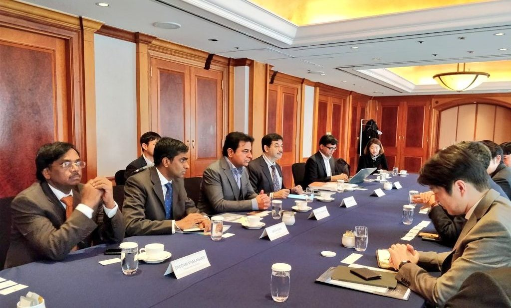 KTR invites foreign investors to invest in Telangana