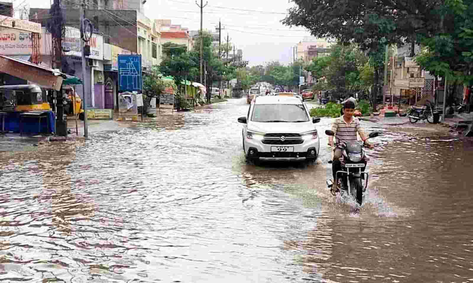 Heavy rainfall experiences in Warangal district