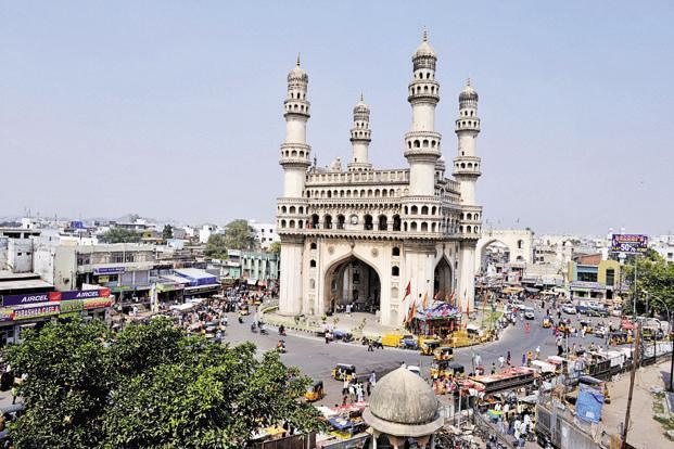 Hyderabad top among Metros