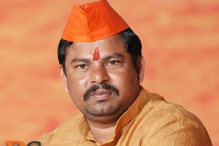 Raja Singh booked for objectionable remarks