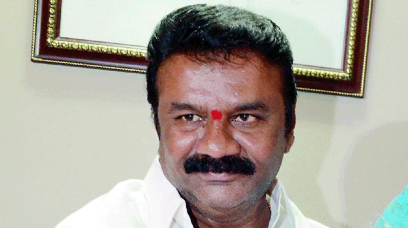 Hyderabad cops file case against T Srinivas Yadav and son