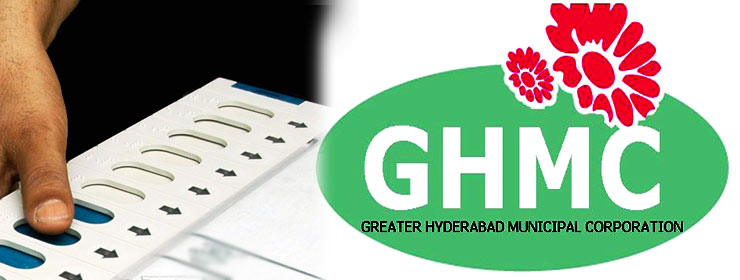 GHMC poll results from 5 pm to 8 pm today