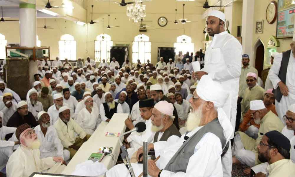 Haj orientation camp conducted at Masjid-e-Sahifa