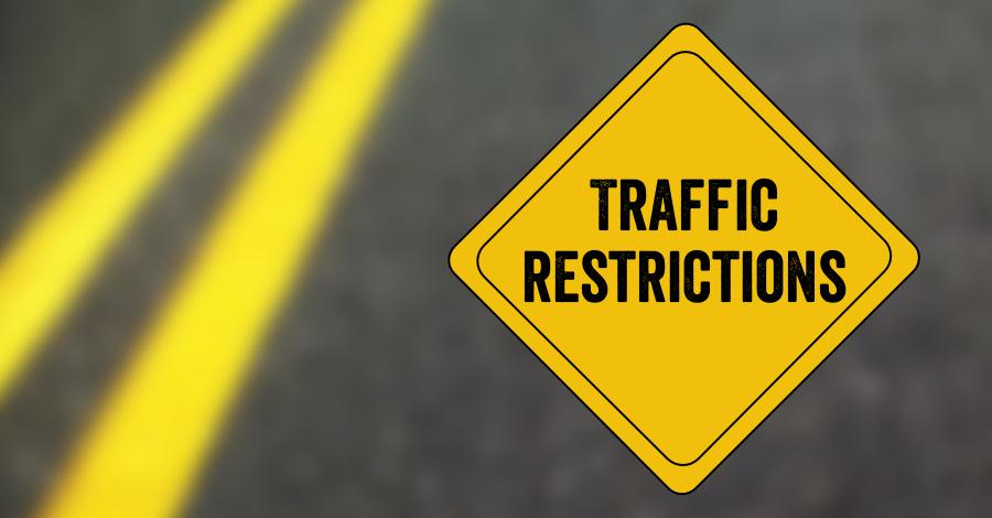 Traffic restrictions from Balkampet to SR Nagar