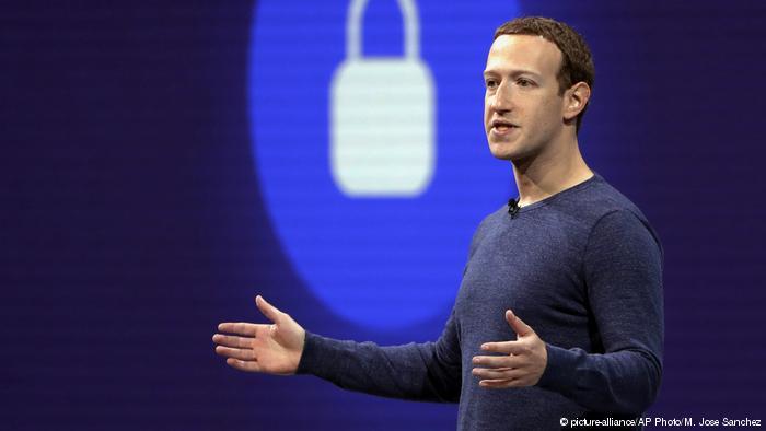 Facebook CEO Mark Zuckerberg calls for internet regulation