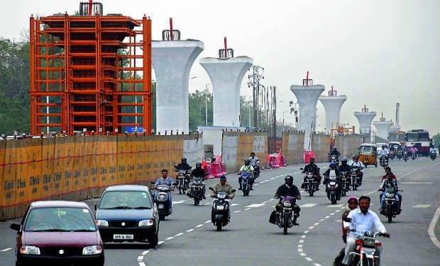 Traffic curbs in IT hub for 3 months
