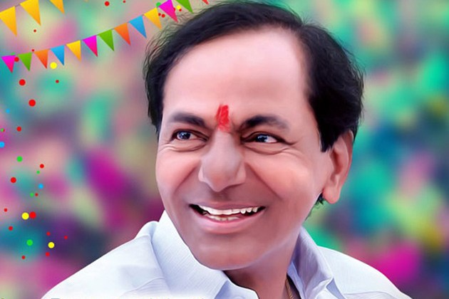 CM KCR greets people on Republic Day