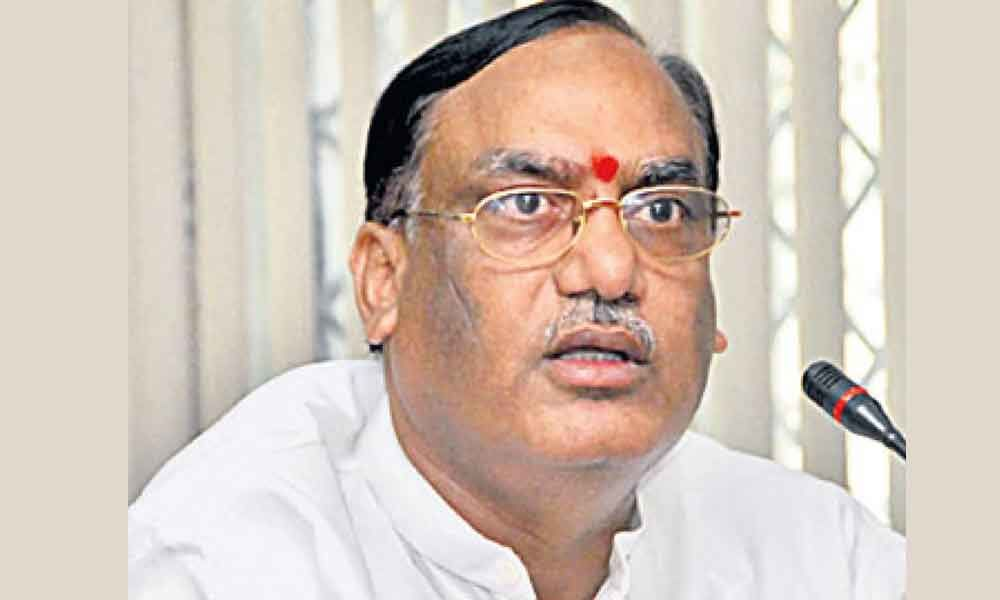 G Sukhender Reddy is new chairman of legislative council