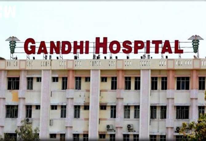 Fire breaks out in Gandhi Hospital