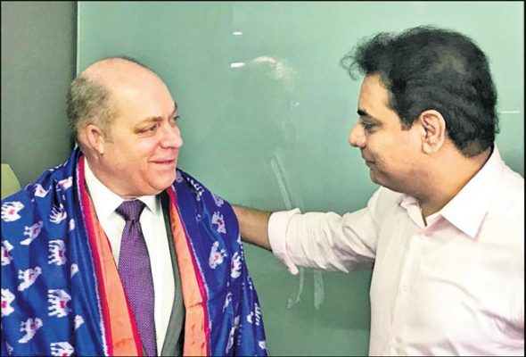 US Counsul General calls on KTR