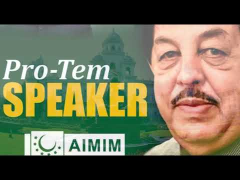 Mumtaz Ahmed Khan to take oath as Pro-tem speaker at 5 pm today