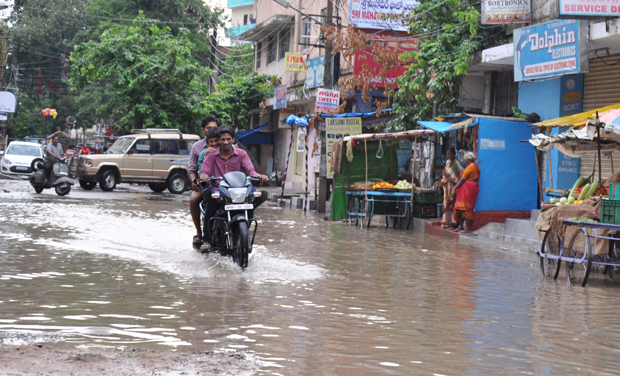 Rain breaks 100-year-old record of highest rainfall in Hyderabad
