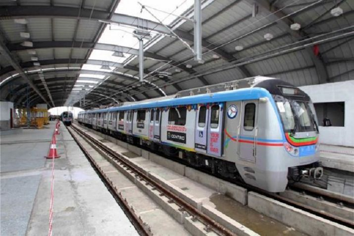 Hyderabad Metro Rail to run one more additional train to Hitech city