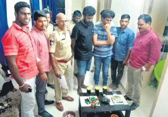 Weed oil enters Hyderabad's underbelly
