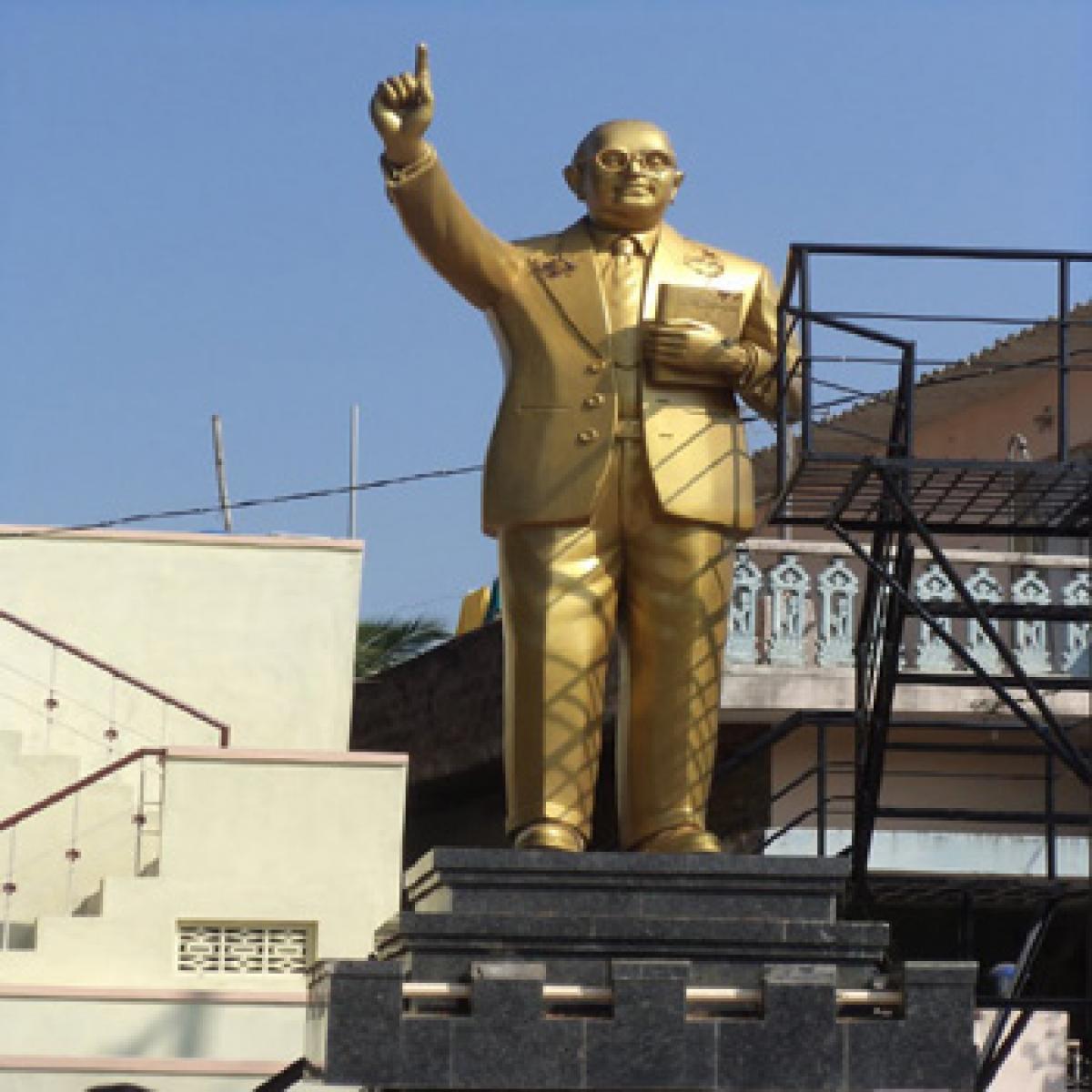 Tallest Ambedkar statue unveiled in Hyderabad
