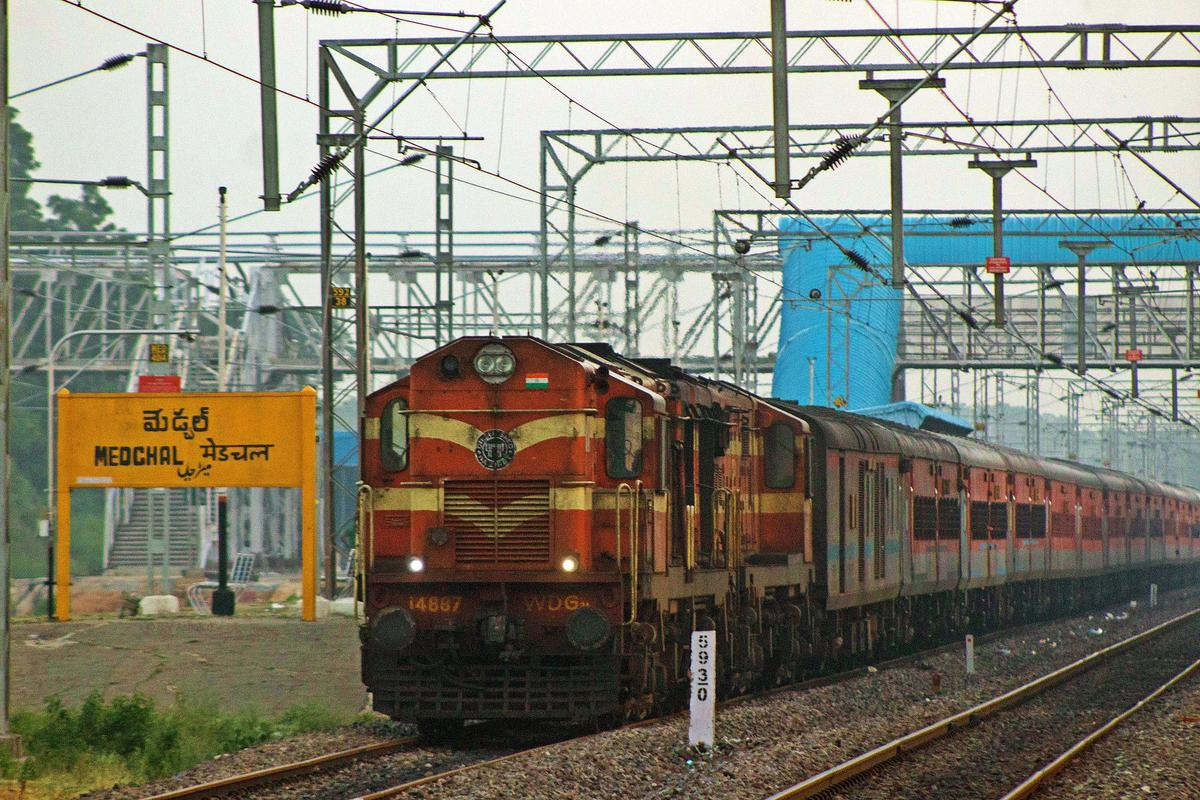 Trains cancelled for a month between Bolarum and Medchal