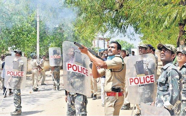 Tension in Utnoor in Adilabad district after group clash