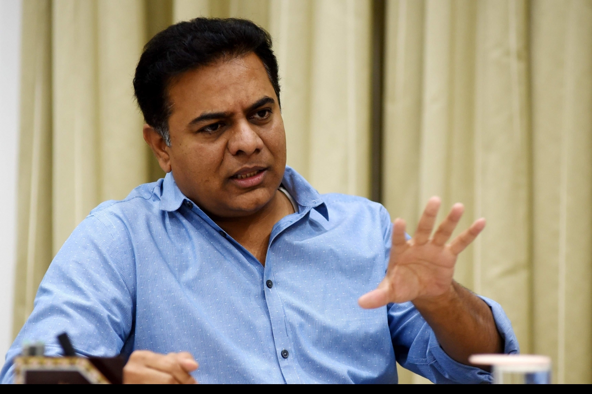 False propaganda against TRS government: KTR