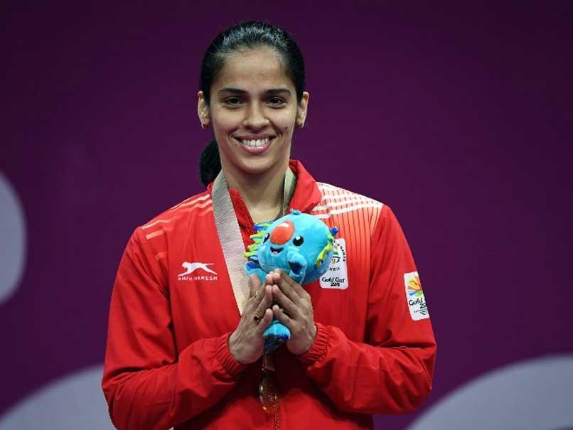 CM KCR congrats Saina on Commonwealth Gold