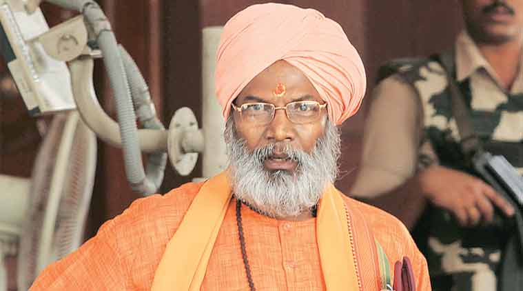 Police alert on the occassion of Ram Navami in Hyderabad; Sakshi Maharaj invited