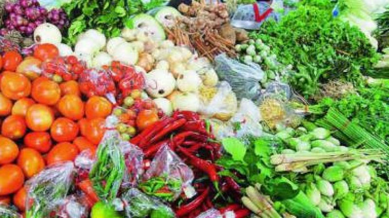 Vegetable prices dip in Hyderabad