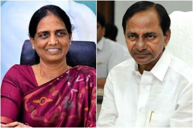 Sabitha Indra Reddy meets with KCR